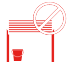 Don't Block Fire Door Icon