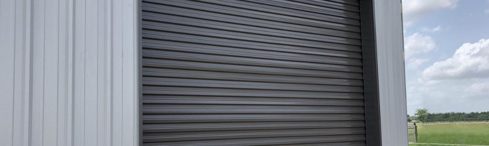 ASTA Metal Building with overhead door